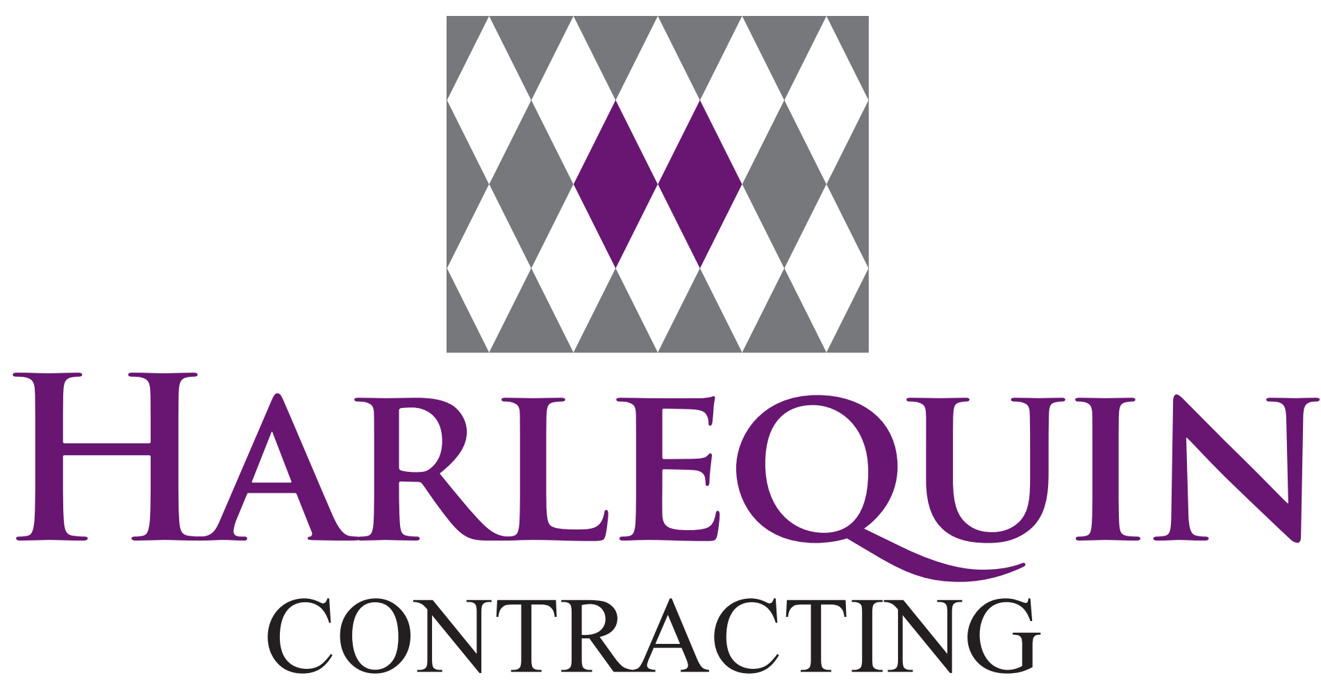Harlequin Contracting Logo